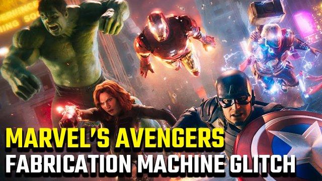 Esiste un problema tecnico per la macchina di fabbricazione Marvel's Avengers?