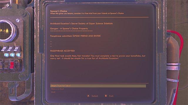 DLC The Outer Worlds Peril su Gorgon | Risposte al quiz sui fumetti