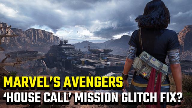 """Esiste una correzione del problema tecnico """"House Call"""" di Marvel's Avengers?"""