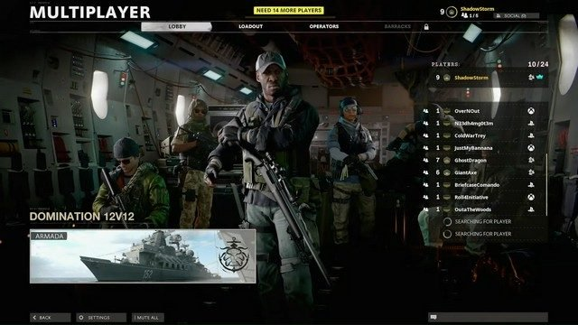 Call of Duty Black Ops Cold War Combined Arms Mode Tipo di gioco