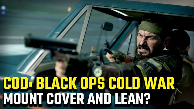 Riuscirai a mettersi al riparo e appoggiarti in Black Ops Cold War?