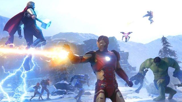 Glitch della macchina di fabbricazione Marvel's Avengers