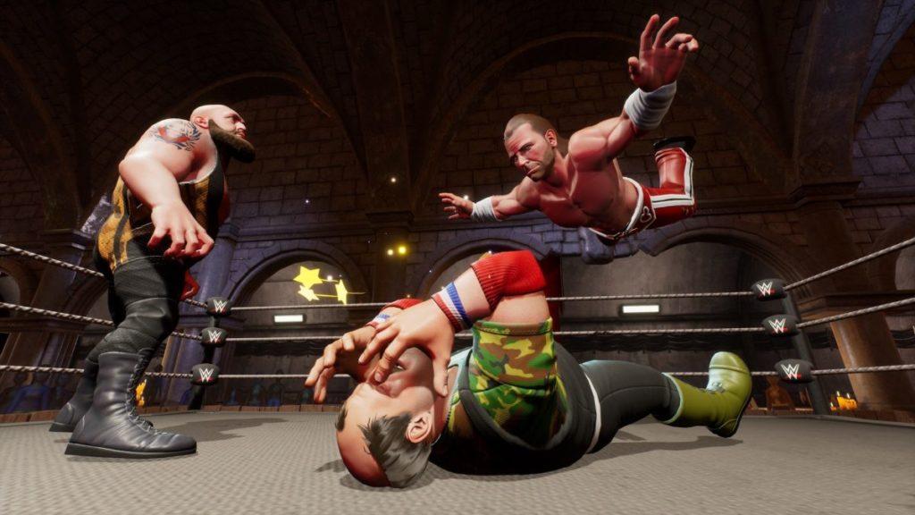 WWE 2K Battlegrounds Unlockable Battlegrounds