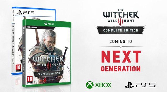 La versione di The Witcher 3 per PS5 e Xbox Series X include ray tracing e caricamento più veloce