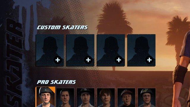 THPS 1 + 2 Remastered Custom Skater Screen