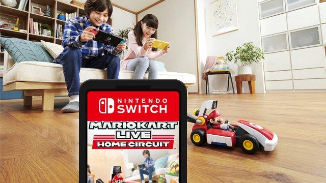 Dov'è la cartuccia di gioco Mario Kart Live: Home Circuit?
