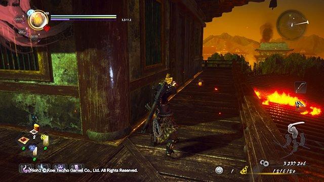 Nioh 2 Darkness in the Capital Kodama locations