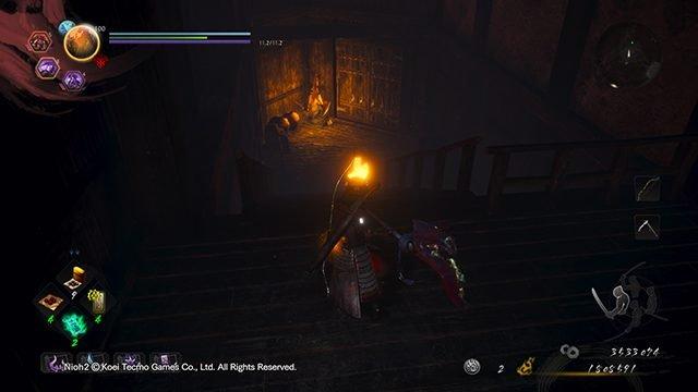 Nioh 2 Darkness in the Capital Kodama Locations   Palazzo dei dannati