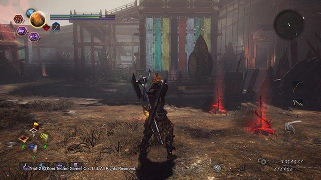 Rotola tra le fiamme sul lato destro (Kodama # 7)