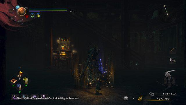 Nioh 2 Darkness nelle località termali della capitale