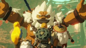 Hyrule Warriors Age of Calamity Daruk the Goron Hero
