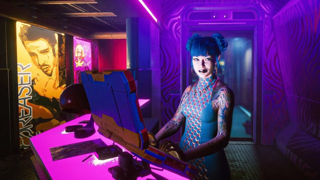 Cyberpunk 2077 The Space in Between