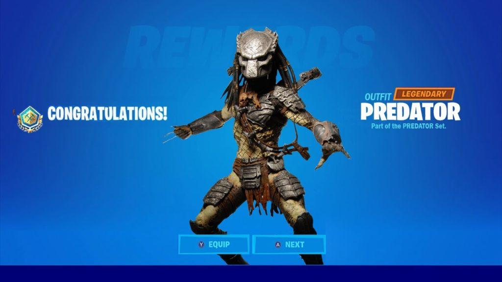 Come sbloccare la skin Predator in Fortnite