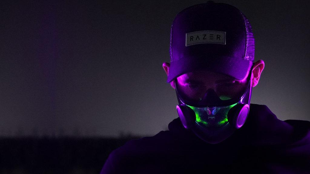 La maschera Project Hazel N95 di Razer ha illuminazione RGB