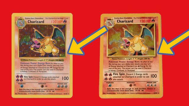 Cos'è una carta Pokemon senza ombre?