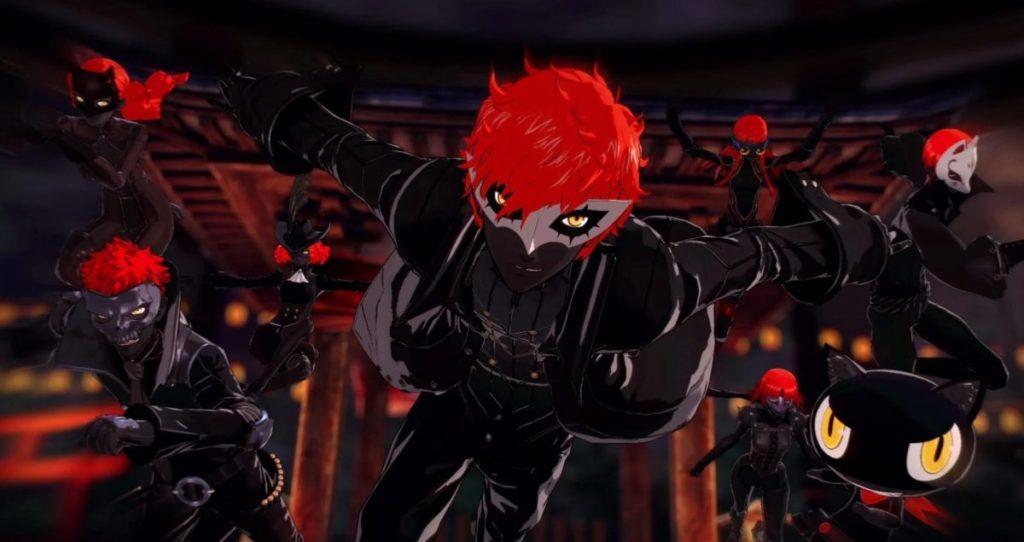 Persona 5 Strikers Akane's Joker Boss