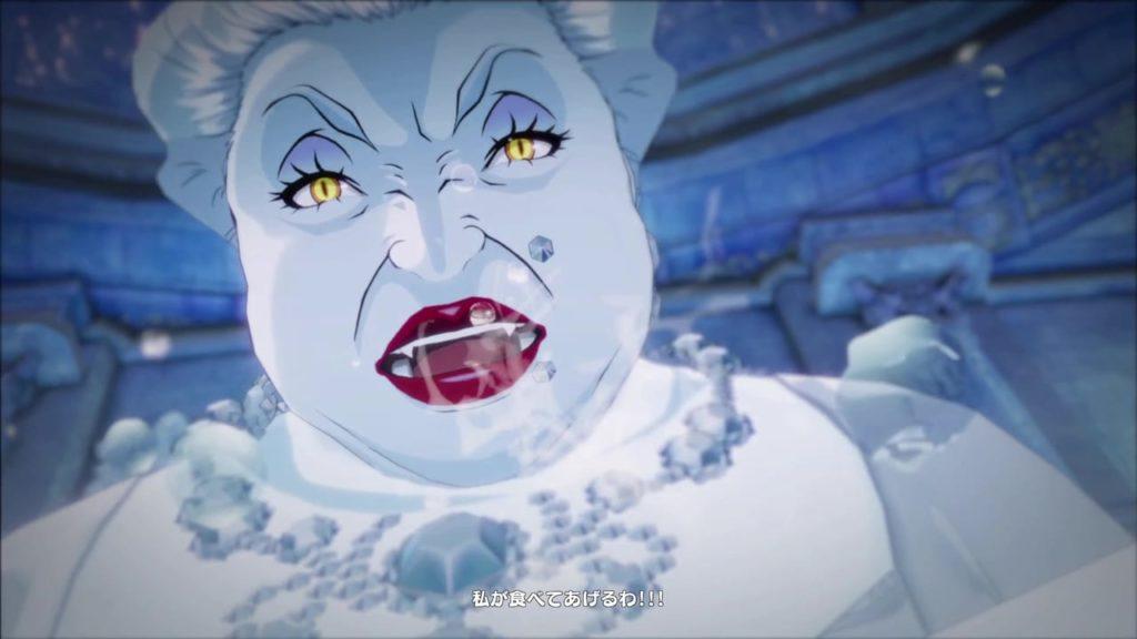 Persona 5 Strikers Snow Empress Mariko Boss