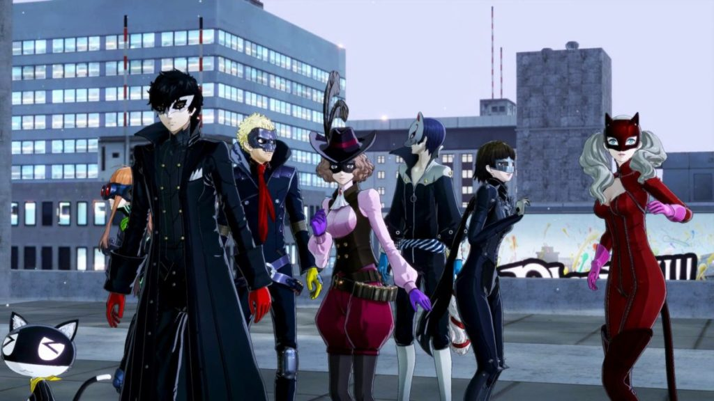Persona 5 Strikers Support and Recovery Skills